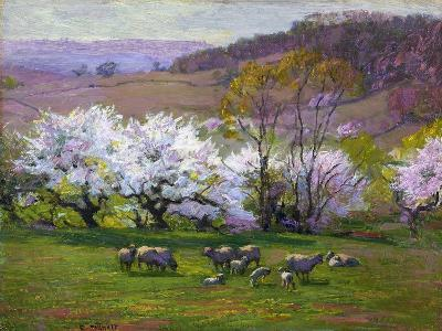 Blossom Time-Edward Henry Potthast-Premium Giclee Print