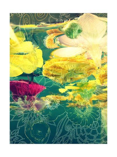 Blossom Water Drawing-Alaya Gadeh-Art Print