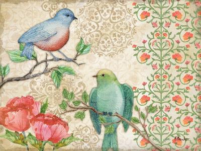 Blossoming Birds II-Paul Brent-Art Print