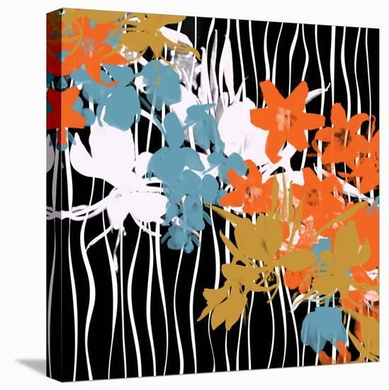 Blossoming Garden VII-Yashna-Stretched Canvas Print