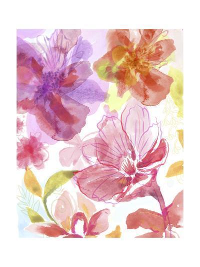 Blossoms in the Sun III-Delores Naskrent-Art Print