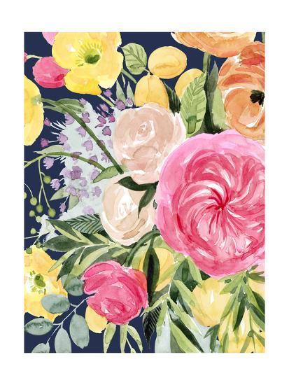 Blossomy Gathering III-Grace Popp-Art Print