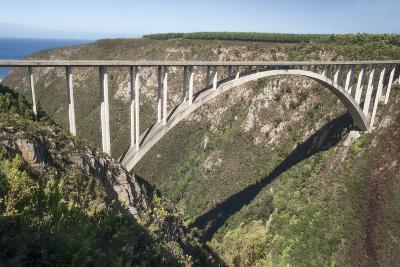 Bloukrans Bridge, Site of Highest Bungy in World, 216 M Tall-Kim Walker-Photographic Print