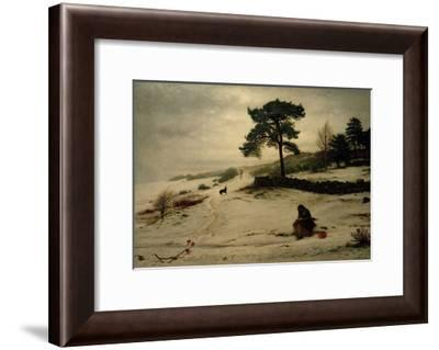 Blow, Blow, Thou Winter Wind, 1892-John Everett Millais-Framed Giclee Print