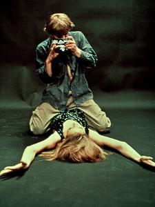 Blow-Up, David Hemmings, Verushka, 1966