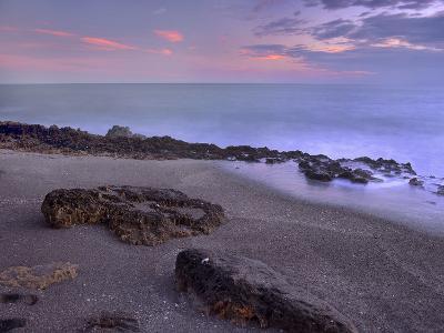Blowing Rocks Beach, Jupiter Island, Florida, Usa-Tim Fitzharris-Photographic Print