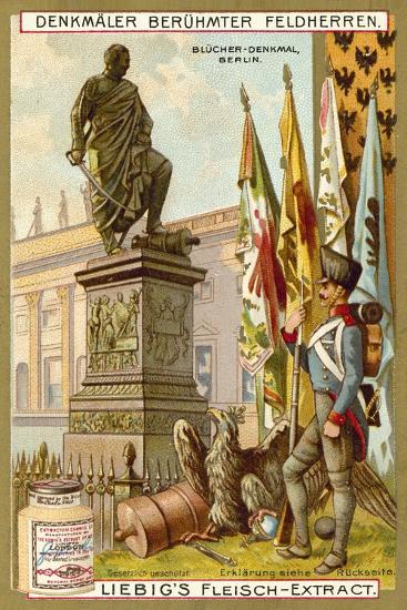 Blucher Memorial, Berlin--Giclee Print