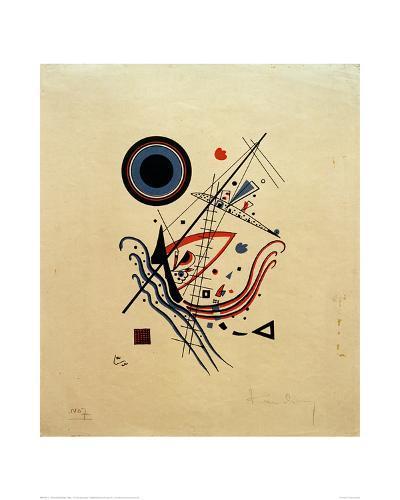 Blue, 1922-Wassily Kandinsky-Giclee Print
