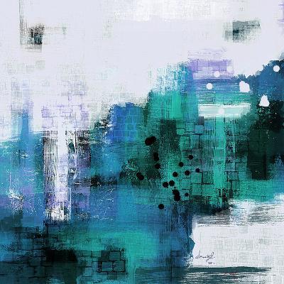Blue Abstract I--Art Print