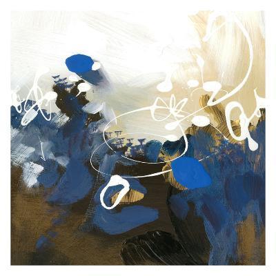 Blue Abstract-Meejlau-Art Print