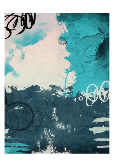 Blue Abstract-Jace Grey-Art Print