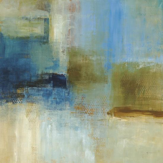 Blue Abstract-Simon Addyman-Premium Giclee Print