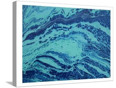 Blue All Over-Deb McNaughton-Stretched Canvas Print