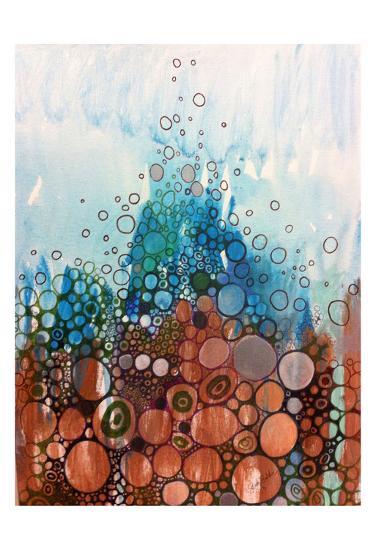 Blue And Bronze-Sarah Butcher-Art Print