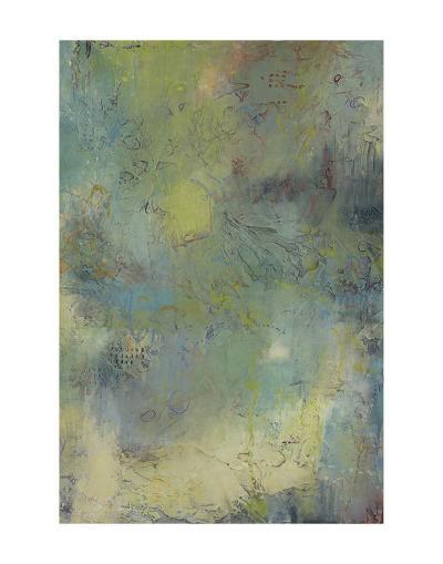 Blue and Green Musings I-Jeannie Sellmer-Art Print