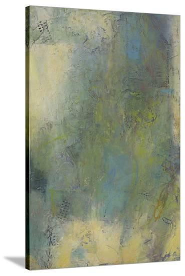 Blue and Green Musings III-Jeannie Sellmer-Stretched Canvas Print