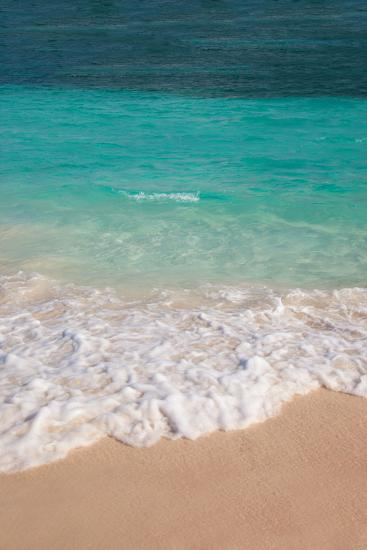 Blue and green water off Orient Beach in St. Maarten, West Indies-Brian Jannsen-Photographic Print