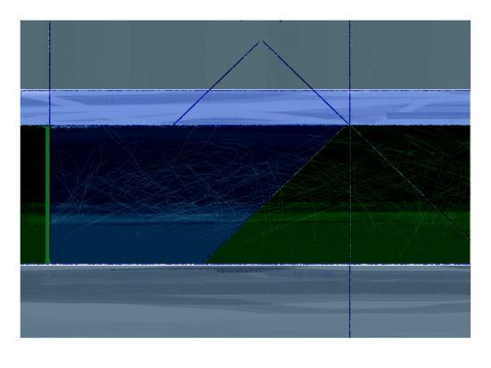 Blue and Green-NaxArt-Art Print