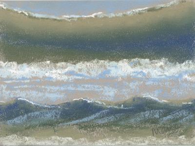 Blue and Green-Marie Marfia Fine Art-Giclee Print