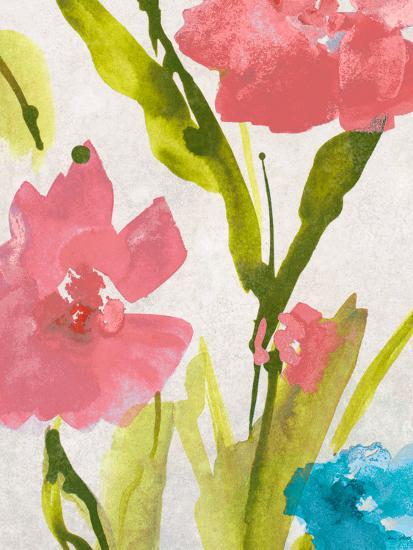 Blue and Pink Povat II-Lanie Loreth-Premium Giclee Print