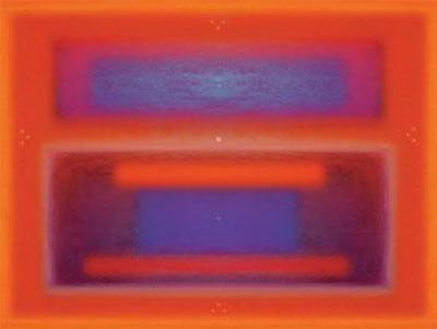 Blue and Red-Klaus Holitzka-Art Print
