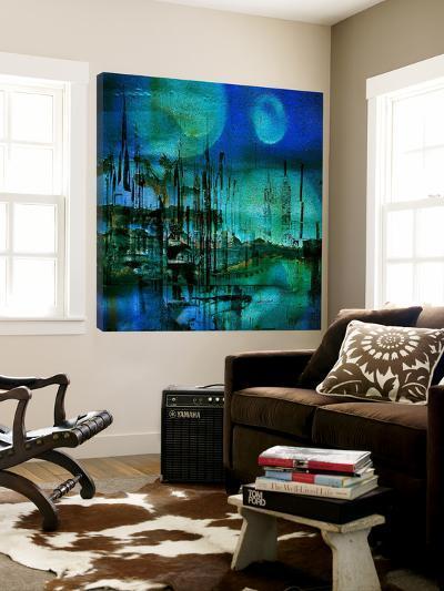 Blue and Turquoise Rust-Jean-Fran?ois Dupuis-Loft Art