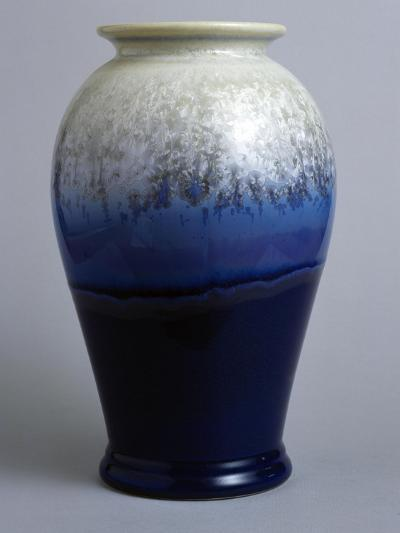 Blue and White Canton Vase, Starfire Collection--Giclee Print