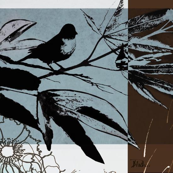 Blue and White Silhouette I-Patricia Pinto-Premium Giclee Print