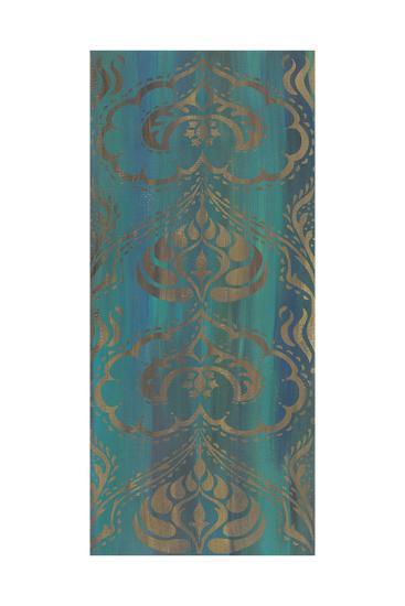 Blue Arabesque II-Chariklia Zarris-Art Print