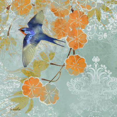 Blue Aurora II-Evelia Designs-Art Print