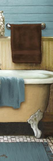 Blue Bain Panel III-Elizabeth Medley-Art Print