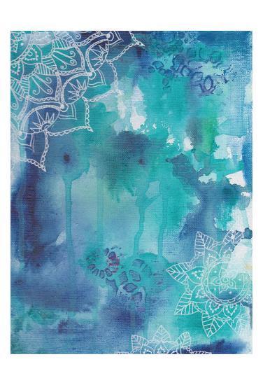 Blue Balance-Pam Varacek-Art Print