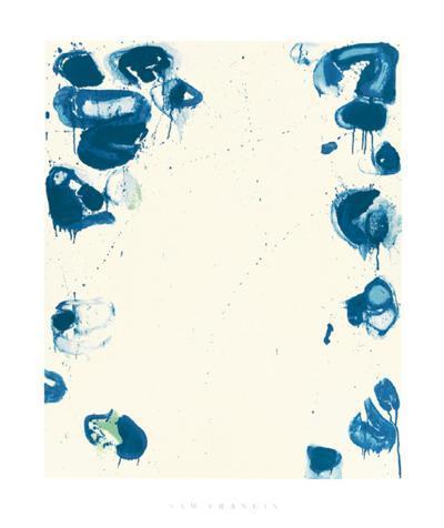 Blue Balls IV, c.1960-Sam Francis-Serigraph