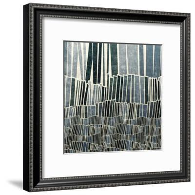 Blue Bamboo-Mali Nave-Framed Giclee Print