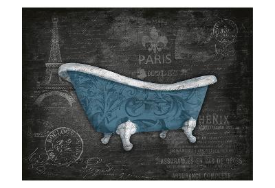 Blue Bath-Jace Grey-Art Print