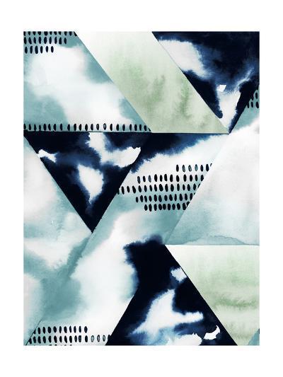 Blue Billow II-Grace Popp-Art Print