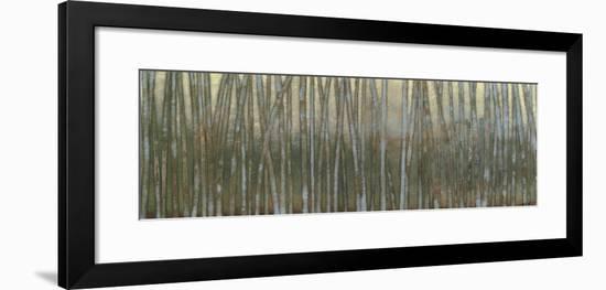 Blue Birch Forest I-Norman Wyatt Jr.-Framed Art Print