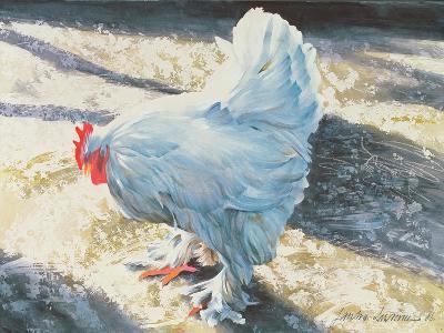 Blue Bird, 1986-Sandra Lawrence-Giclee Print