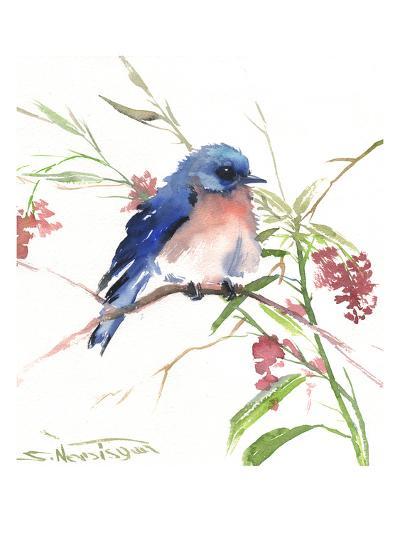Blue Bird 8-Suren Nersisyan-Art Print
