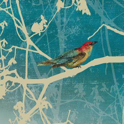 Blue Bird I-Anna Polanski-Art Print