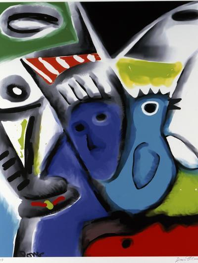 Blue Bird-Diana Ong-Giclee Print