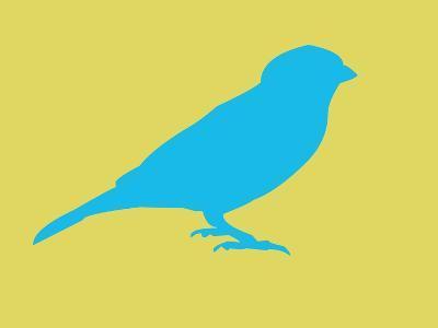 Blue Bird-NaxArt-Art Print