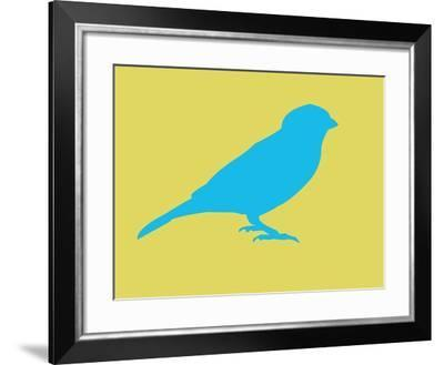 Blue Bird-NaxArt-Framed Art Print
