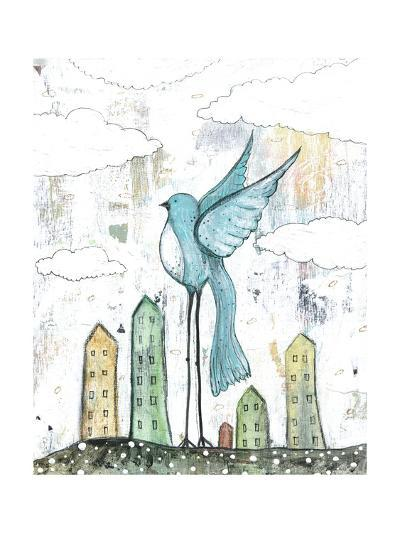 Blue Bird-Sarah Ogren-Art Print