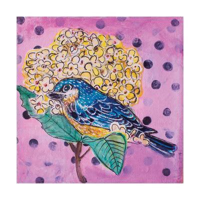 Blue Bird-Belinda Dworak-Art Print