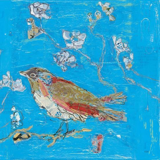 Blue Bird-Kellie Day-Art Print
