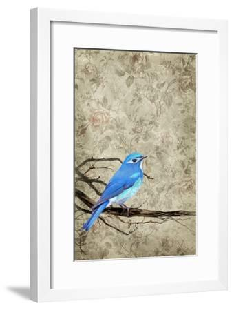 Blue Bird-THE Studio-Framed Premium Giclee Print