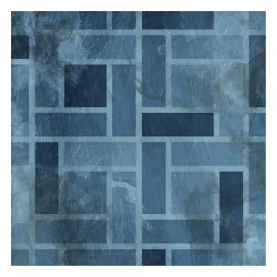 Blue Birds Eye-Jace Grey-Art Print