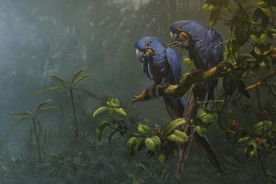 Blue Birds-Michael Jackson-Giclee Print