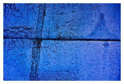Blue Boardwalk-Jean-Fran?ois Dupuis-Art Print